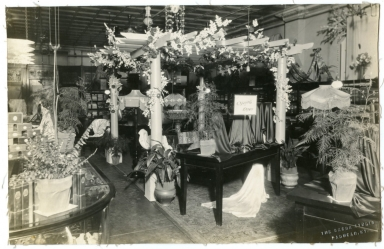 Interior of Rudy's Department Store