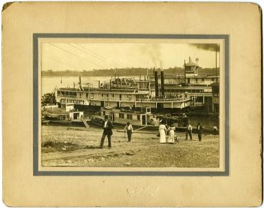 Riverfront Scene, Paducah