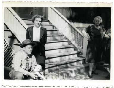 John, Lucille and Grandma Grace
