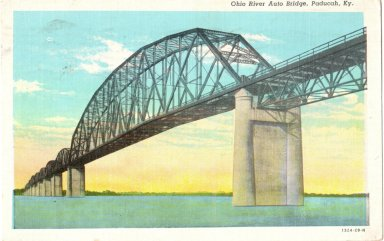 Ohio River Auto Bridge, Paducah, KY