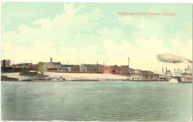 Paducah from Owen's Island.