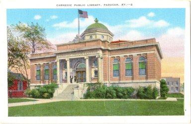 Carnegie Library, Paducah, KY.-2