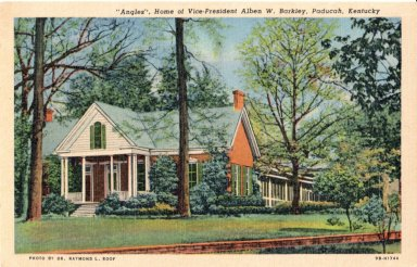 """Angles"", Home of Vice-President Alben W. Barkley, Paducah, Kentucky"
