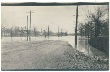 1913 Flood, 19th & Broadway Looking South