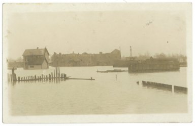 1913 Flood, The O.L. Gregory Vinegar Co.