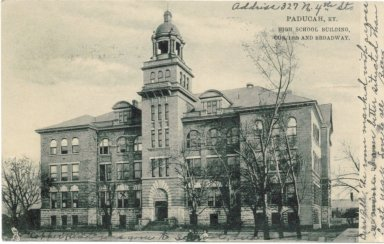 4-Paducah High School, 13th and Broadway, Paducah KY.