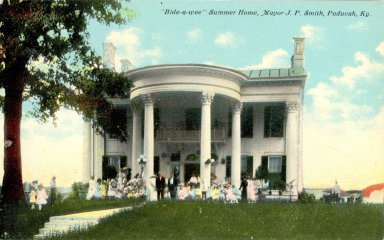 "Bide-a-wee"" Summer Home, Mayor J. P. Smith, Paducah, Ky."