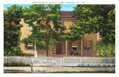 Birthplace Of Irvin S. Cobb Paducah, Ky.-18