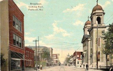 Broadway, looking East, Paducah, Ky.