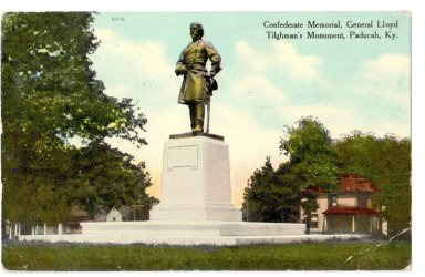 Confederate Memorial, General Lloyd Tolghman's Monument, Paducah, KY