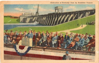 Dedication of Kentucky Dam by President Truman