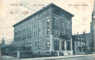 Elk Home, First Baptist Church, Paducah, Ky.