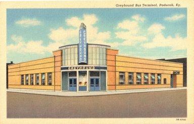 Greyhound Bus Terminal, Paducah, Ky.