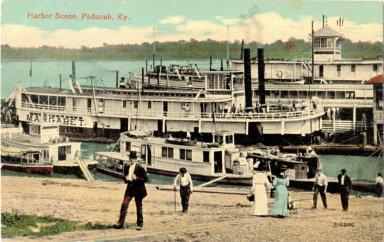 Harbor Scene, Paducah, Ky.