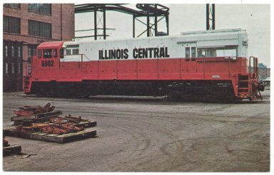 Illinois Central 5002