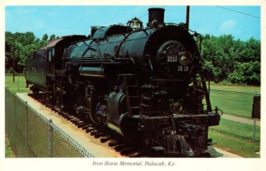Iron Horse Memorial, Paducah, Ky.