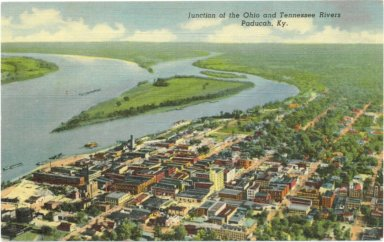 Junction of the Ohio and Tennessee Rivers, Paducah, Ky.
