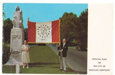 OFFICAL FLAG OF THE CITY OF PADUCAH, KENTUCKY