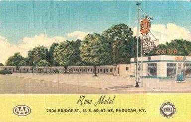 Rose Motel, 2504 Bridge St., U.S. 60-62-68, Paducah, Ky.