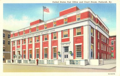 United States Post Office and Court House, Paducah, Ky.