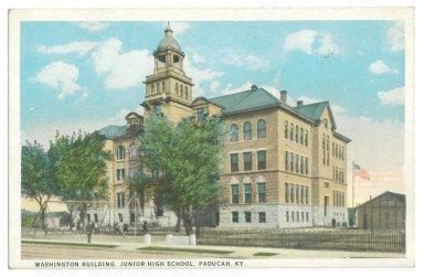 Washington Building, Junior High School, Paducah, KY.