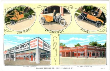 Thomas Service Co.,Inc.,Paducah, KY.