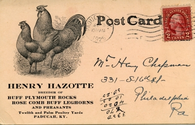 Henry Hazotte,chicken breeder