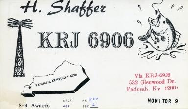 Ham radio operator KRJ 6906 in Paducah (KY)