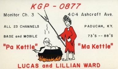 Ham radio operator KGP-0877 in Paducah (KY)