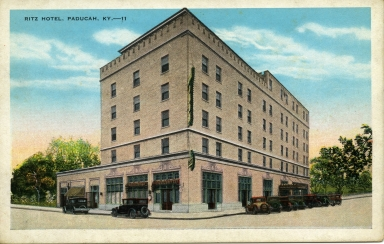 Ritz Hotel on Broadway in Paducah (KY)