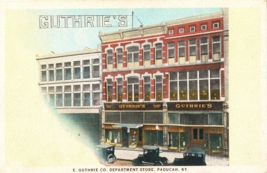 E. Guthrie Co Department Store, Paducah, KY