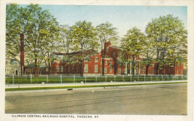 Illinois Central Railroad Hospital, Paducah, KY.
