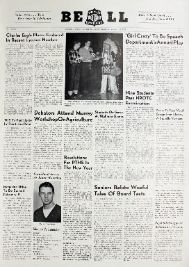 Tilghman Bell - January 25, 1957