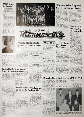 Tilghman Bell - March 12, 1968