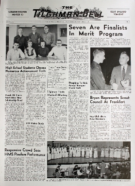 Tilghman Bell - March 3, 1961