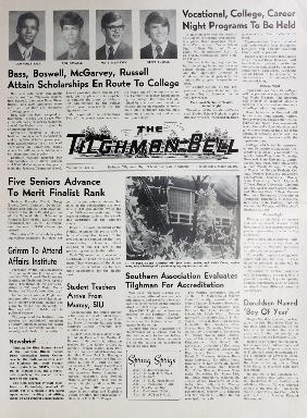 Tilghman Bell - March 31, 1971