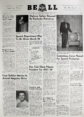 Tilghman Bell - March 7, 1957