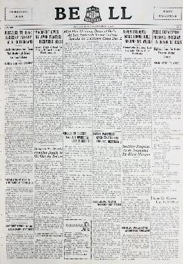 Tilghman Bell - December 11, 1937
