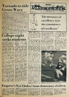 Tilghman Bell - November 16, 1973