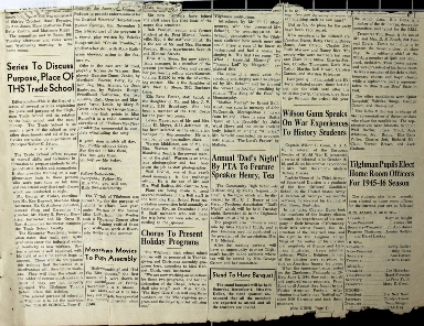 Tilghman Bell - November 2, 1945