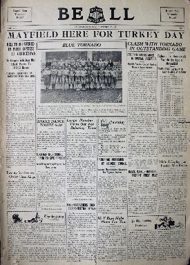 Tilghman Bell - November 25, 1931