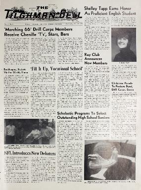 Tilghman Bell - November 25, 1970