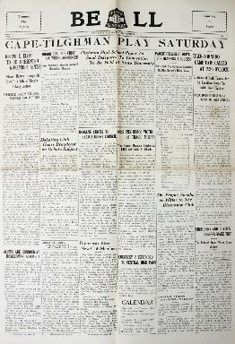 Tilghman Bell - November 3, 1933