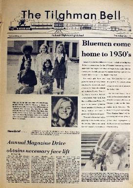 Tilghman Bell - October 11, 1973