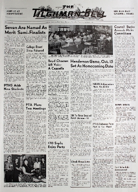 Tilghman Bell - October 6, 1960