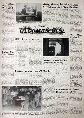 Tilghman Bell - October 9, 1969