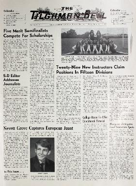 Tilghman Bell - September 18, 1970