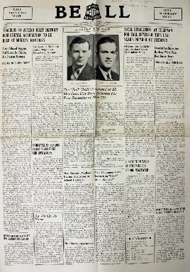 Tilghman Bell - September 30, 1938
