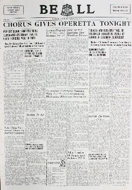 Tilghman Bell - January 14, 1938