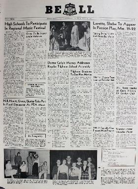 Tilghman Bell - March 14, 1952